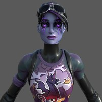 Fortnite Dark Bomber 3D Model