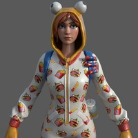 Fortnite DurrburgerPJs 3D Model