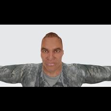 Lt. John 3D Model