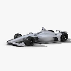 Racing car 2019 3D Model