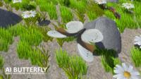 AI butterfly 3D Model