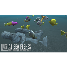 AI Sea Fishes - ready solutions for your project 3D Model