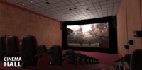 Cinema hall 3D Model