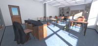 Classroom - School 3D Model