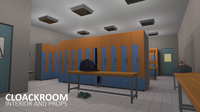 Cloackroom - interior and props 3D Model
