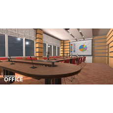 Conference hall - office 3D Model