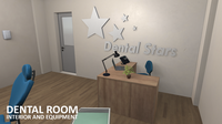 Dental room - interior and equipment 3D Model
