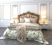 Classic Bed 3 3D Model