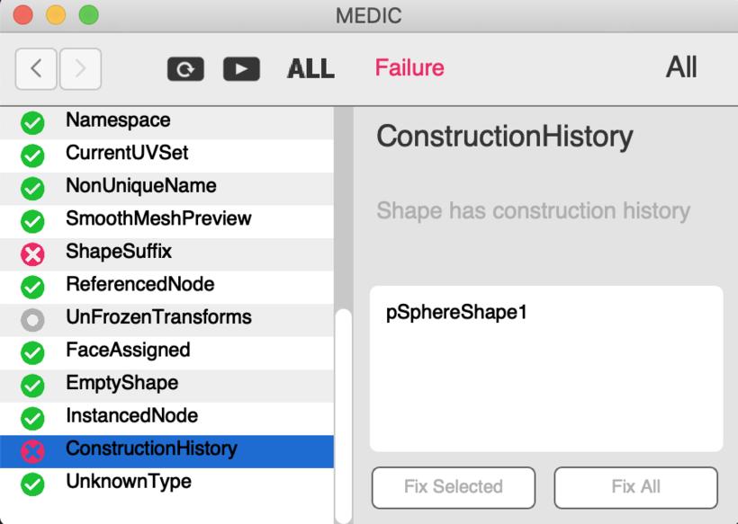 Medic for Maya - Free Utility / External Scripts / Plugins Downloads