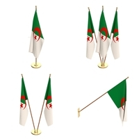 Algeria Flag Pack 3D Model