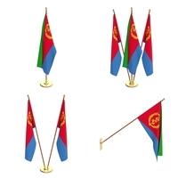 Eritrea Flag  Pack 3D Model