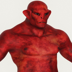 Realistic Male Alien 03 3D Model