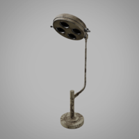 Old Operating Theatre Spotlight 3D Model