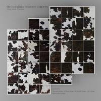 Carpet Pack 5 _ Rectangular Leather Carpets. 3D Model