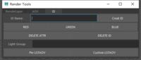 Arnold ID Aovs Tool 0.0.1 for Maya (maya script)