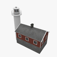Light House Haken 3D Model