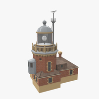 Light House Helsingborg 3D Model