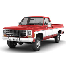GENERIC 4WD PICKUP TRUCK 7 3D Model