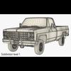 02 56 39 63 generic pickup truck 7 render20 4