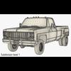 03 32 28 358 generic pickup truck 8 render14 4