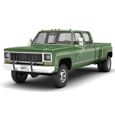 GENERIC 4WD DUALLY PICKUP TRUCK 9 3D Model