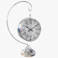 Hanging Clock 3D Model