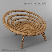 Spiral Chair Dunelli 3D Model