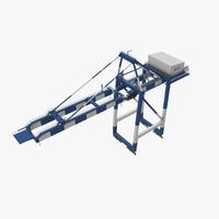 Sea Crane 3D Model