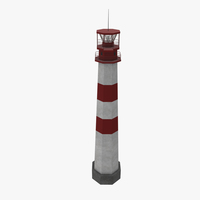 Light House Gelendzhikskiy 3D Model