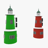 Light House Helsingor 3D Model