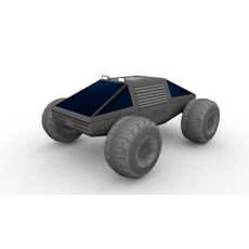 Offroad Vehicle (E-Buggy) concept 3D Model