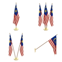 Malaysia Flag Pack 3D Model
