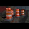 22 07 23 787 3d orange traffic drum barrier 02 4