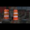 22 07 28 452 wiraframe 3d orange traffic drum barrier 1 4