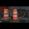 22 07 29 551 wiraframe 3d orange traffic drum barrier 2 4
