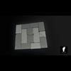 22 20 04 528 3d stone wall tiles boney toes 01b 4