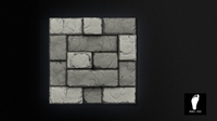 Tileable 3D Stone Floor Tiles 3D Model