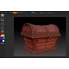 05 58 22 18 treasure chest b zbrush wireframe 4