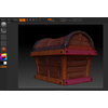 05 58 22 862 treasure chest b zbrush wireframe 4