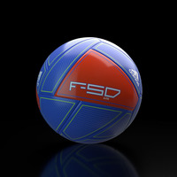 Adidas F50 soccer ball 3D Model