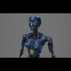 Robot LEDI001 3D Model