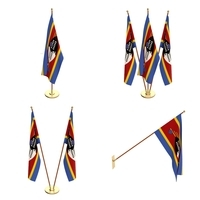 Swaziland Flag Pack 3D Model