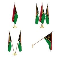 Vanuatu Flag Pack 3D Model