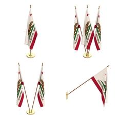 California Flag Pack 3D Model