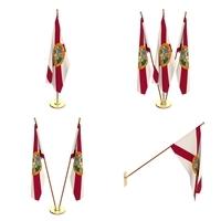 Florida Flag Pack 3D Model