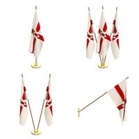 Northern Ireland Flag Pack 3D Model
