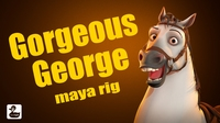 GorgeousGeorge horse rig 1.3.0 for Maya