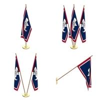 Wyoming Flag Pack 3D Model