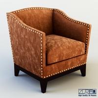 Tacha Armchair 3D Model