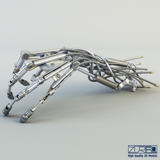 Robotic Hand v 1 3D Model